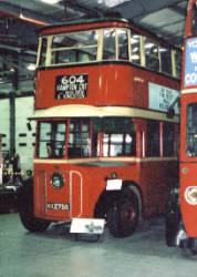 London United Trolleybus No 1. These trolleybuses, known