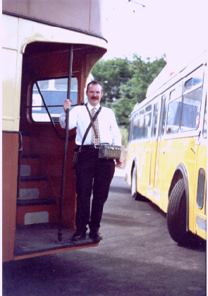 Me in June 2000 at the Black Country Museum